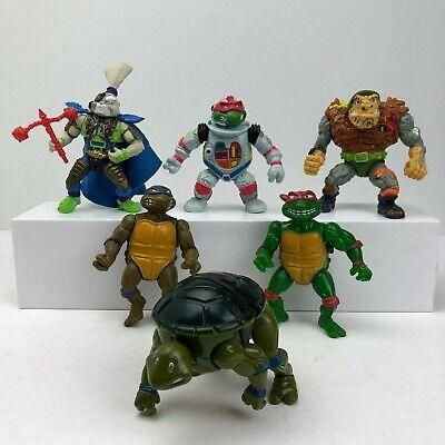 TMNT Vintage Teenage Mutant Ninja Turtles Action Figures Playmates 1988-1991