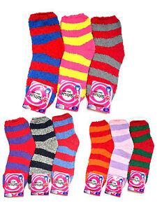 3-PAAR-Damen-Kuschel-Socken-Thermo-Wellness-Kuschelsocken-Wintersocken-Warm