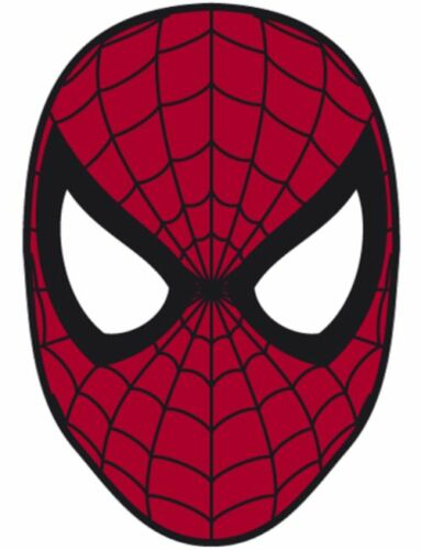 "Spiderman Iron On Transfer 5 /""x7.25/"" for LIGHT Colored Fabric"