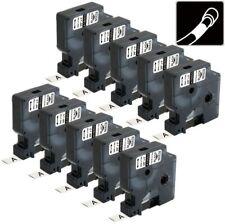 10pk 18053 Heat Shrink Tube Compatible Dymo Rhino Label Maker 4200 5200 3000 9mm