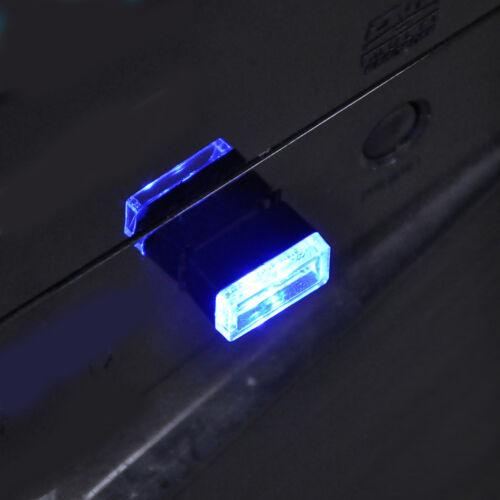 Mini Flexible USB LED Light Colorful Light Lamp For Car Atmosphere Lamp Bright