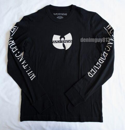 NWT WUTANG FOREVER Long Sleeve Sz XS Wu-Tang Classic HipHop Album Band T-Shirt