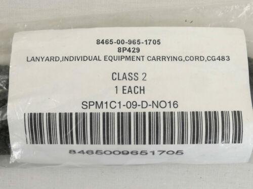 US Lanyard Individual Equipment Carrying Cord Fangriemen Schnur für Pistole Colt