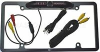 Color Rear View Cam W/ Ir Night Vision Leds For Pioneer Avh-p4000dvd Avhp4000dvd