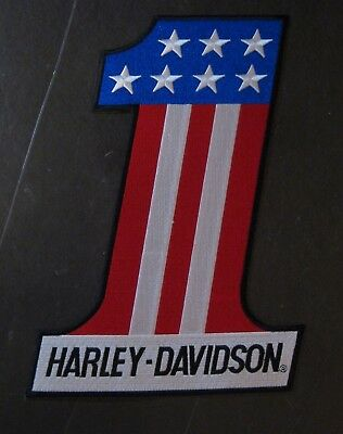 Harley Davidson Motor Cycles Iron On Patch Embroidered Patch Evil Knievel