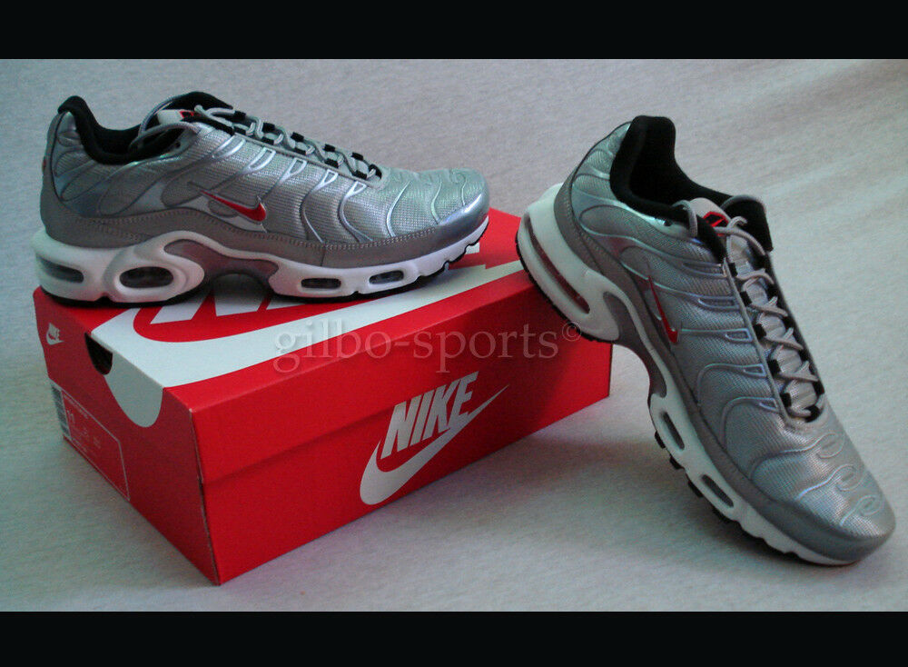 Nike Air Max Plus QS WMNS Limitiert Metallic Silber Gr. 36 36,5 Neu 887092 001