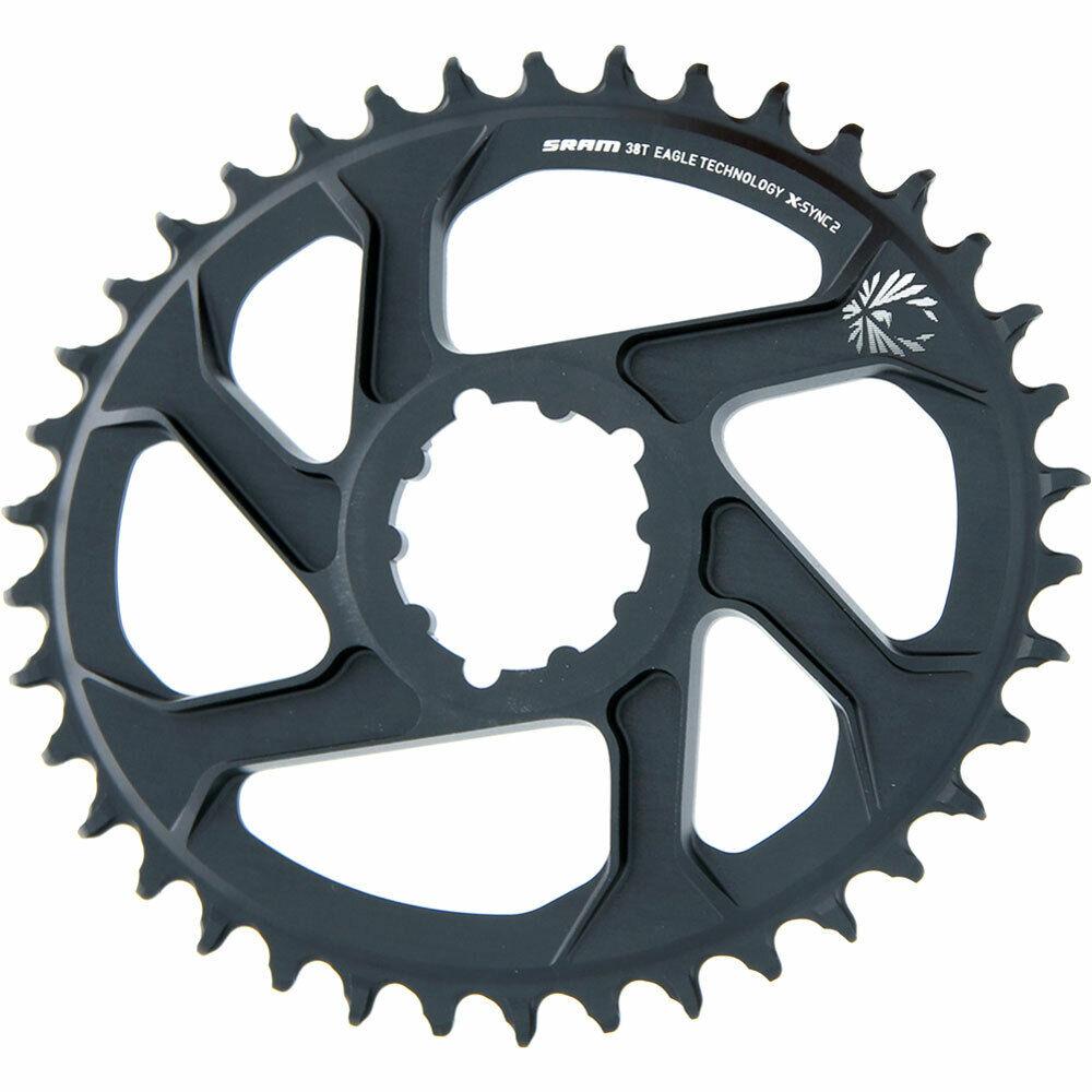 SRAM cadenas hoja X-Sync Eagle oval 6mm offset 38z bicicleta.