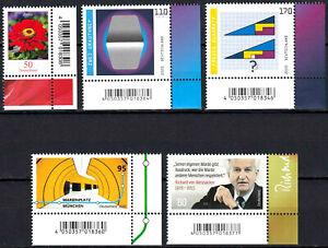 3535-3536-3537-3538-3539-postfrisch-Ecke-Eckrand-rechts-unten-BRD-Bund-2020