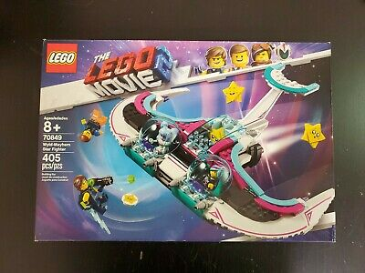 LEGO THE LEGO Movie 2 Wyld-Mayhem Star Fighter 70849 Toy Spaceship Building Set