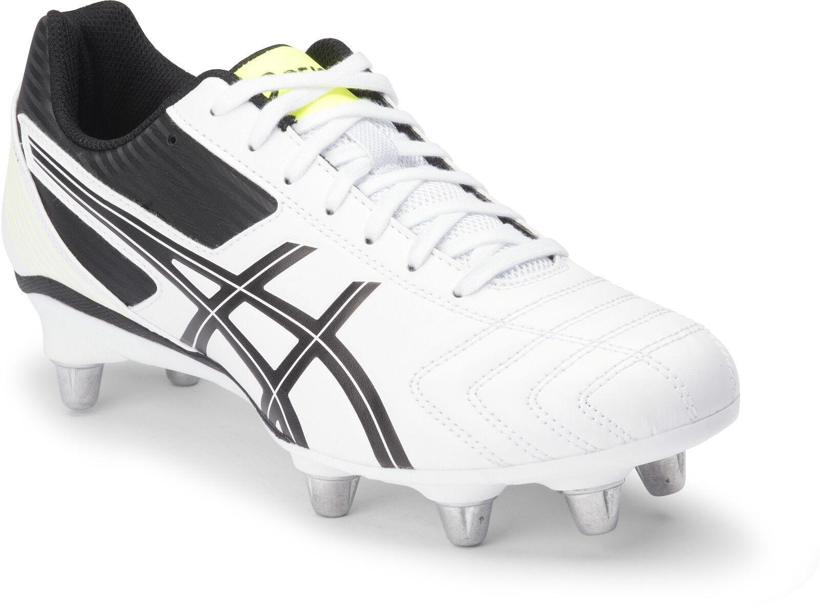 Asics Lethal abordar Para Hombre botas de fútbol (0190) + Entrega Gratis Australia De Ancho