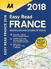 AA Easy Read Atlas France: 2018 by AA Publishing (Paperback, 2017)