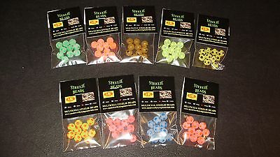 Lake Ontario 10mm Steelie Bead Selection Steelhead /& Salmon FREE BEADS INCLUDED