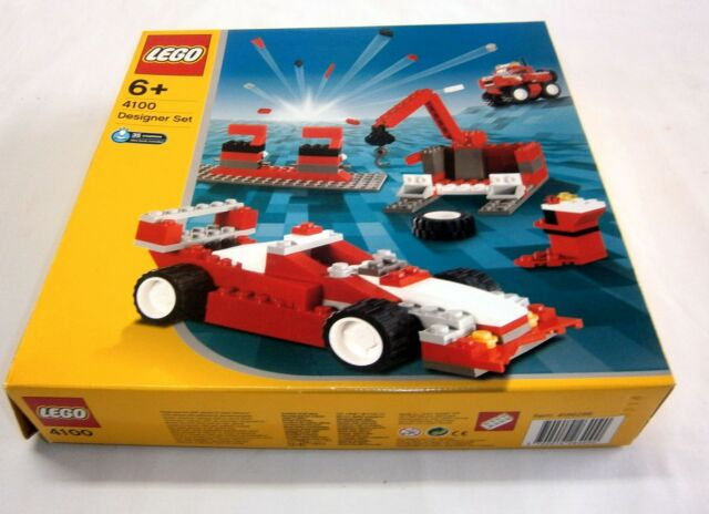 4100 LEGO Creator Maximum Wheels 35 creations 100% complete box & instructions