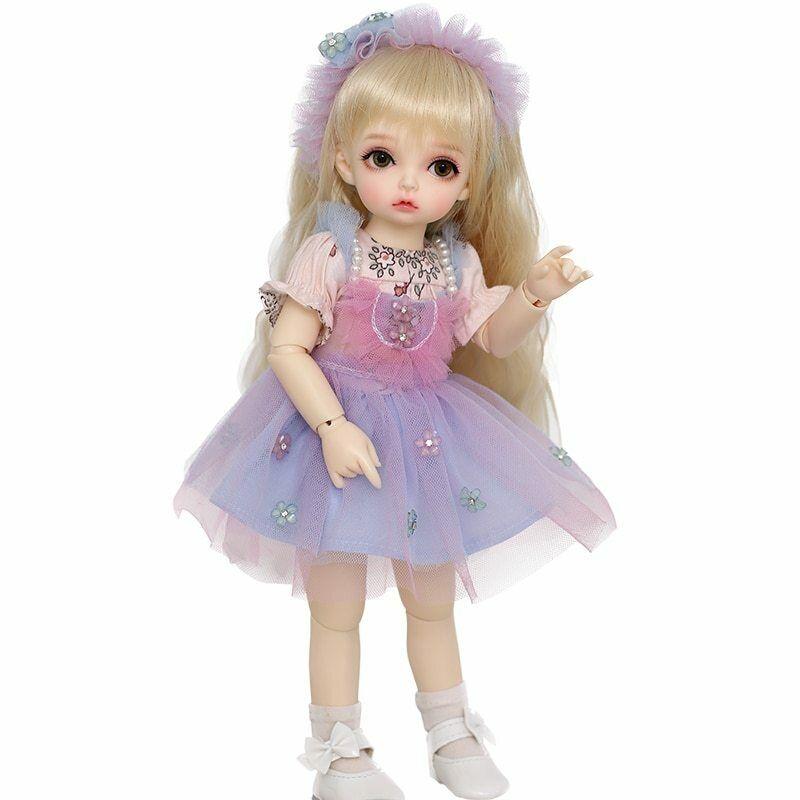 BJD recast Doll Peanut 1 6 YoSD cute tiny lati kawaii muñeca preciosa anime ma
