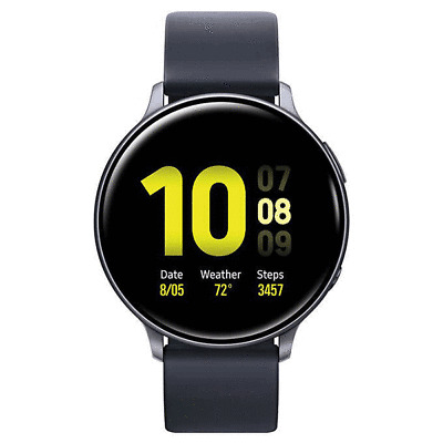 Samsung Galaxy Watch Active 2 44mm Smart Watch SM-R820NZKCXAR Black Bundle