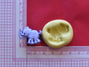 Baby Shower Silicone Molds ~ Baby elephant silicone mold a909 candy chocolate fondant miniature