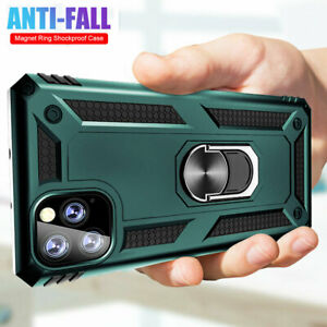 For-iPhone-11-Pro-X-XS-Max-XR-6s-7-8-Plus-Case-Shockproof-Armor-Ring-Stand-Cover