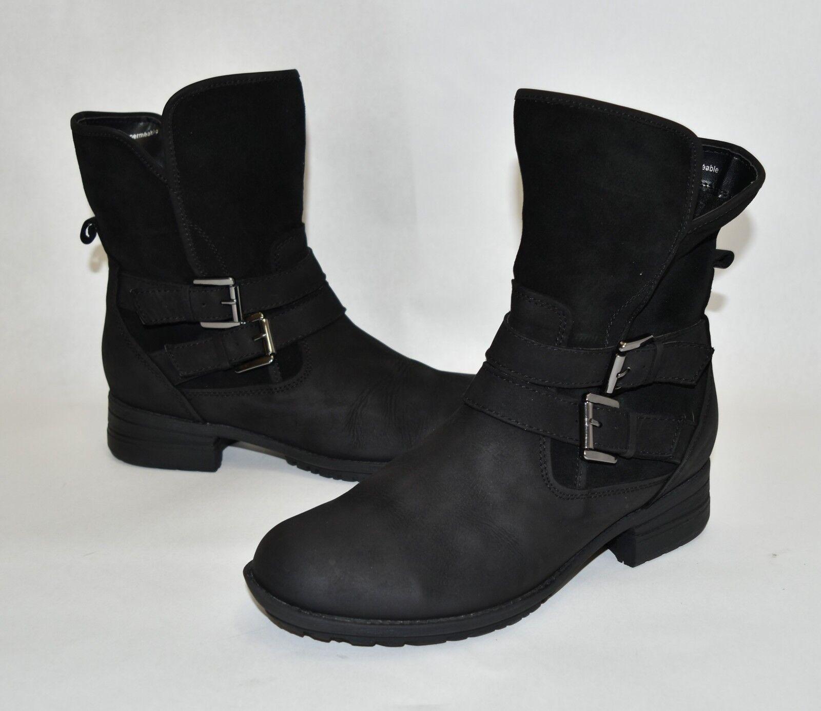 Blondo Tula Waterproof avvio nero Suede and Nubuck Leather B5873 Dimensione 6