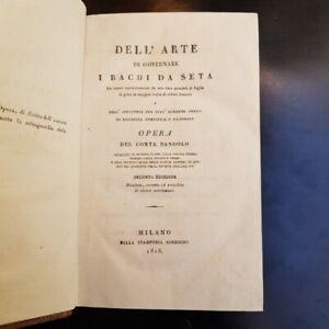 DANDOLO-Dell-039-arte-di-governare-i-bachi-da-seta-due-tavole-incise-1818