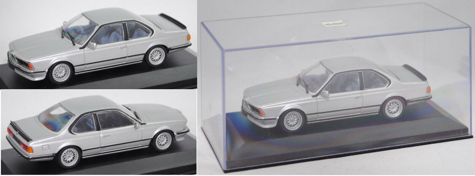 Minichamps 430025120 BMW 635 CSi, polaris metalliskt, 1 43