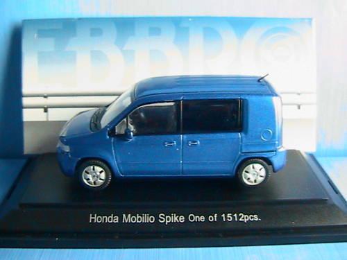 HONDA MOBILIO SPIKE VIVID bleu EBBRO 1 43 LUDOSPACE NEW
