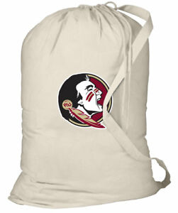 Florida-State-University-Laundry-Bags-BEST-FSU-Clothes-Bag-w-SHOULDER-STRAP