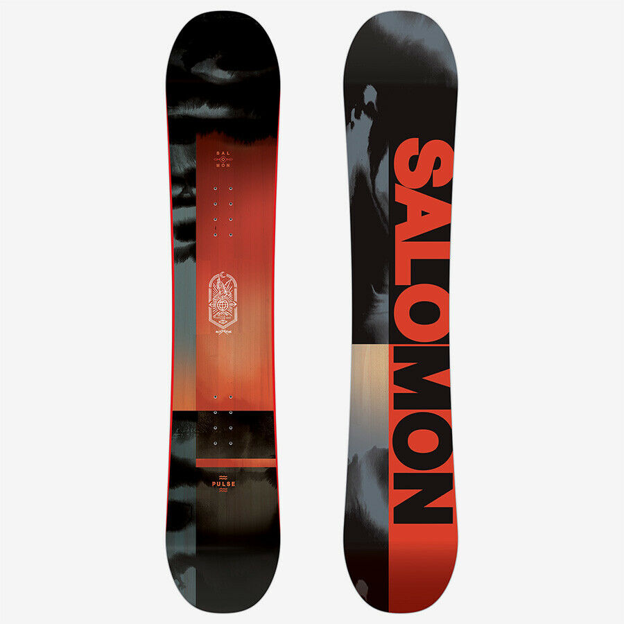 Snowboard Hip Straight Salomon Pulse 2020 Profile out Camber Side Wall