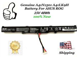 OEM-Genuine-A41N1501-A41LK9H-battery-for-ASUS-ROG-GL752VW-G752VW-N552VX-48Wh-New