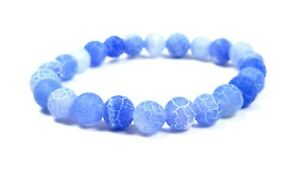 Frosted-Dragon-Veins-Natural-Gemstone-Crystal-Mineral-Round-Bead-Healing-Chakra