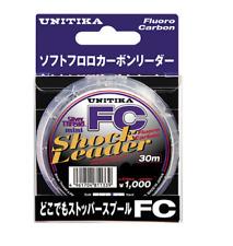Unitika Shock Leader Silver Thread Fluorocarbon IGFA Class Line FC 60lb 100m