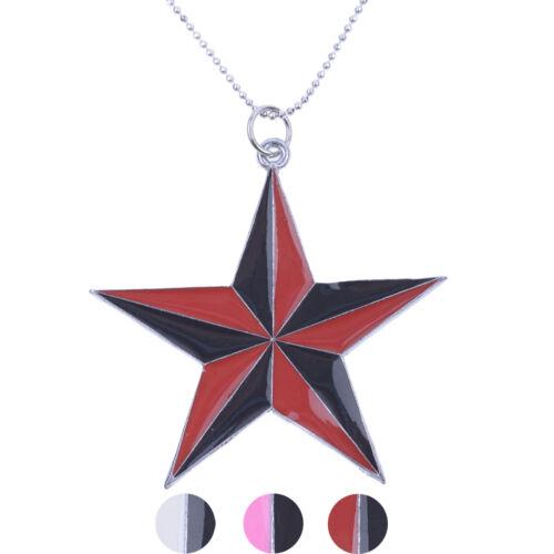 Oldschool NAUTIC STAR Sterne Reto Halskette Schmuck Rockabilly