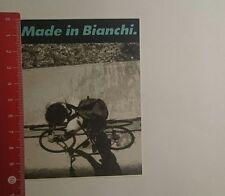 Pegatina/sticker: made in bianchi (29111672)