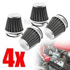 4 x 39mm Motorcycle Air Filter Pod Cleaner for Suzuki Kawasaki KZ550 KZ650 GS550
