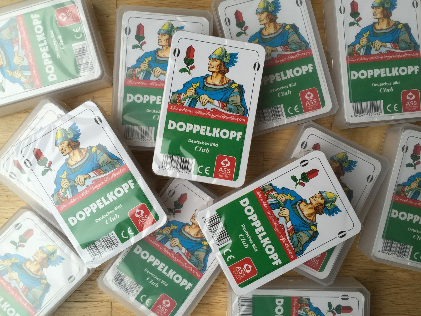 Ab  je Spiel - Doppelkopfkarten Deutsches Bild von ASS - Doppelkopf