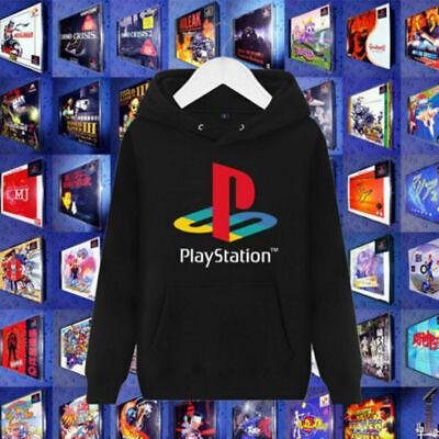 PS PlayStation classic symbol cosplay zipper hooded sweatshirt sweater coat