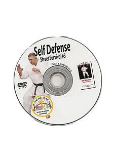 martial arts instructional dvd self defense jujitsu karate judo mma dvd SD3 Best