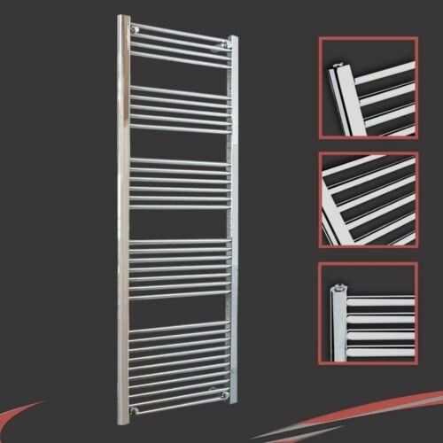 RADIATORE per asciugamani riscaldati Ferroviario Cromo dritto Bagno Radiatori tutte le taglie