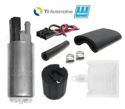 QUANTUM E85 340LPH Intank Fuel Pump /&Install Kit for Nissan S13 S14 200SX Silvia