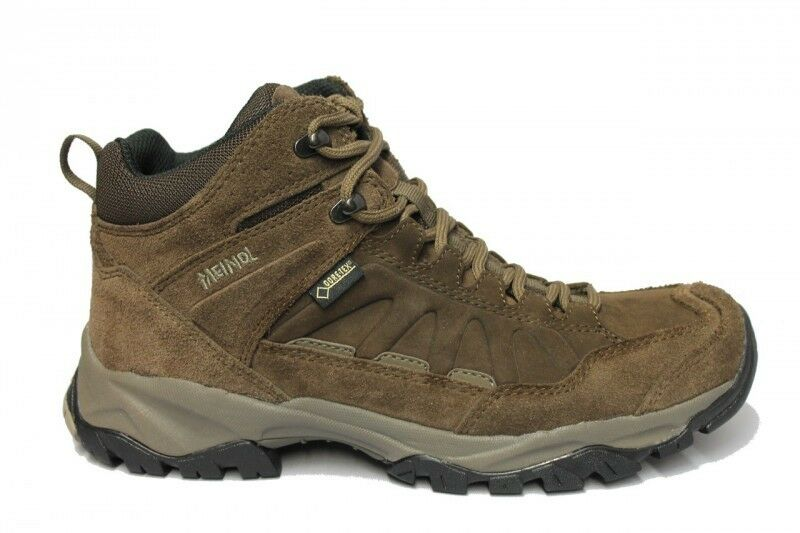 Meindl Ladies Outdoor shoes Nebraska Mid Gore-Tex Dark Brown