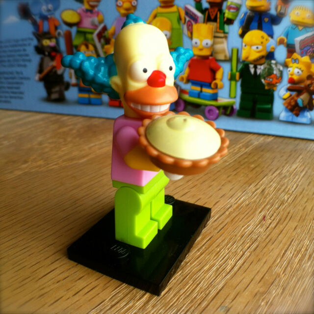 LEGO 71005 THE SIMPSONS Minifigures KRUSTY THE CLOWN #8 SEALED Minifigs Series 1
