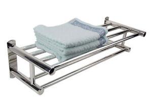 Portasciugamani Bagno A Muro : Mensola porta asciugamani da bagno scaffale parete handtuchregal