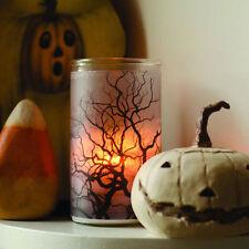 Vela De Raíz/Árbol/botella luz espeluznante con una vela Blanco Hechizado-Halloween