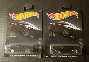 Hot Wheels 2020 Exotic Series 3//6 Bentley Continental Supersports