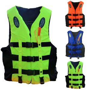 Water Sports Learned Polyester Adult Life Vest Jacket Swimming Boating Drifting Life Vest S-xxl Sizes Water Sports Safety Man Jacket Life Jacket Vest Clear And Distinctive