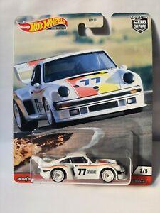 Hotwheels Premium series. Porsche 934-5 .  Neuf sous bister