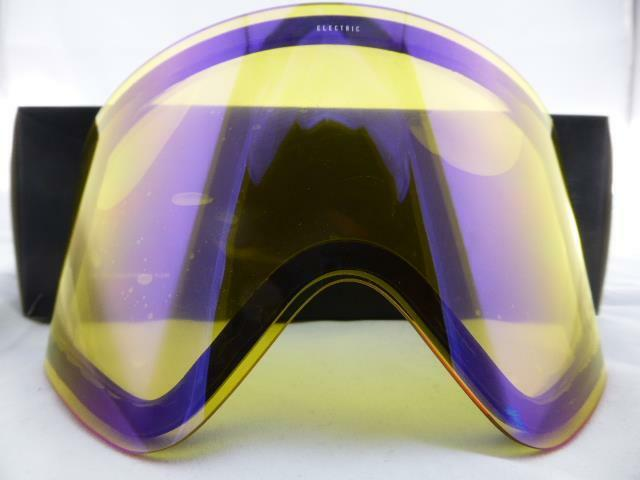 5de5c1569ae3 Electric EGX Snow Goggle Replacement Lens - Yellow Blue Chrome New in Box