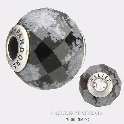 Authentic Pandora Essence Collection Sterling Silver Belief Bead 796045SFO