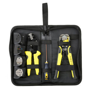 4-In-1-Wire-Crimpers-Ratcheting-Terminal-Crimping-Pliers-Cord-End-Terminals-Tool