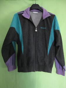 Détails sur Veste Adidas TERMINATOR Ventex 80'S anthracite violet Vintage Jacket 162 XS