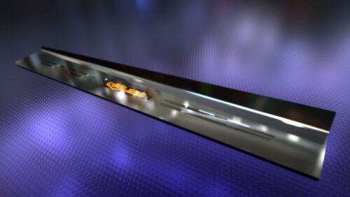 acciaio inossidabile Barre di ingresso con richiesta incisione 850i Per BMW e31